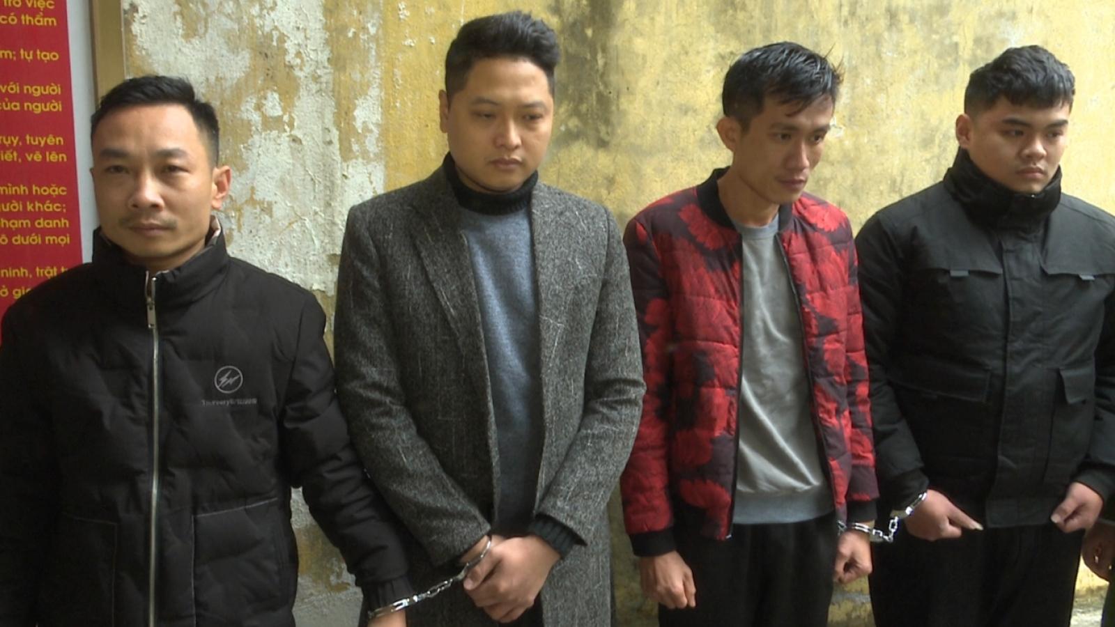 Bắt đối tượng nghiện ma tuý trộm ô tô đỗ cạnh UBND phường