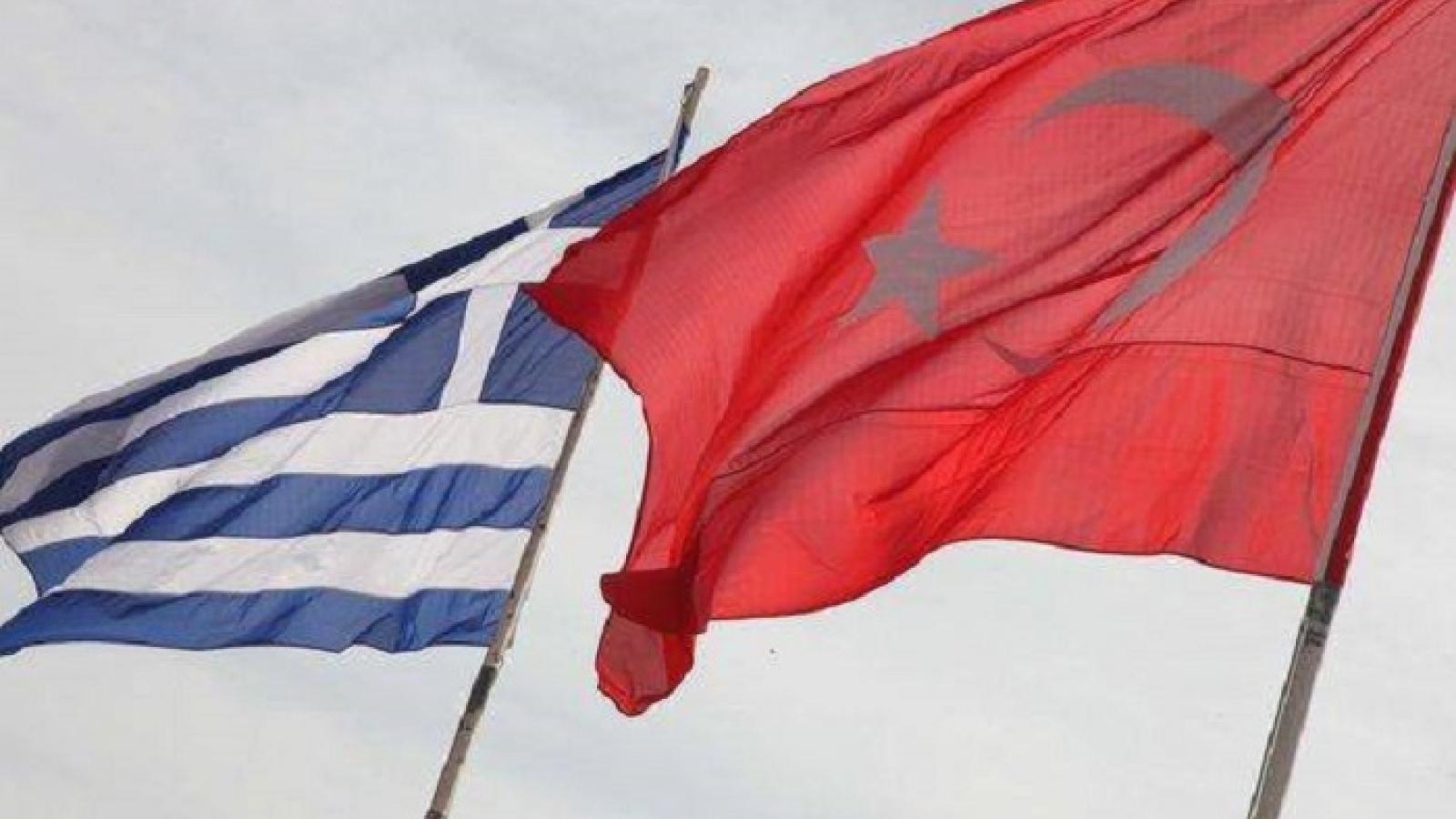 Hy Lạpvà Thổ Nhĩ Kỳ nối lại đàm phán về phân định lãnh hải
