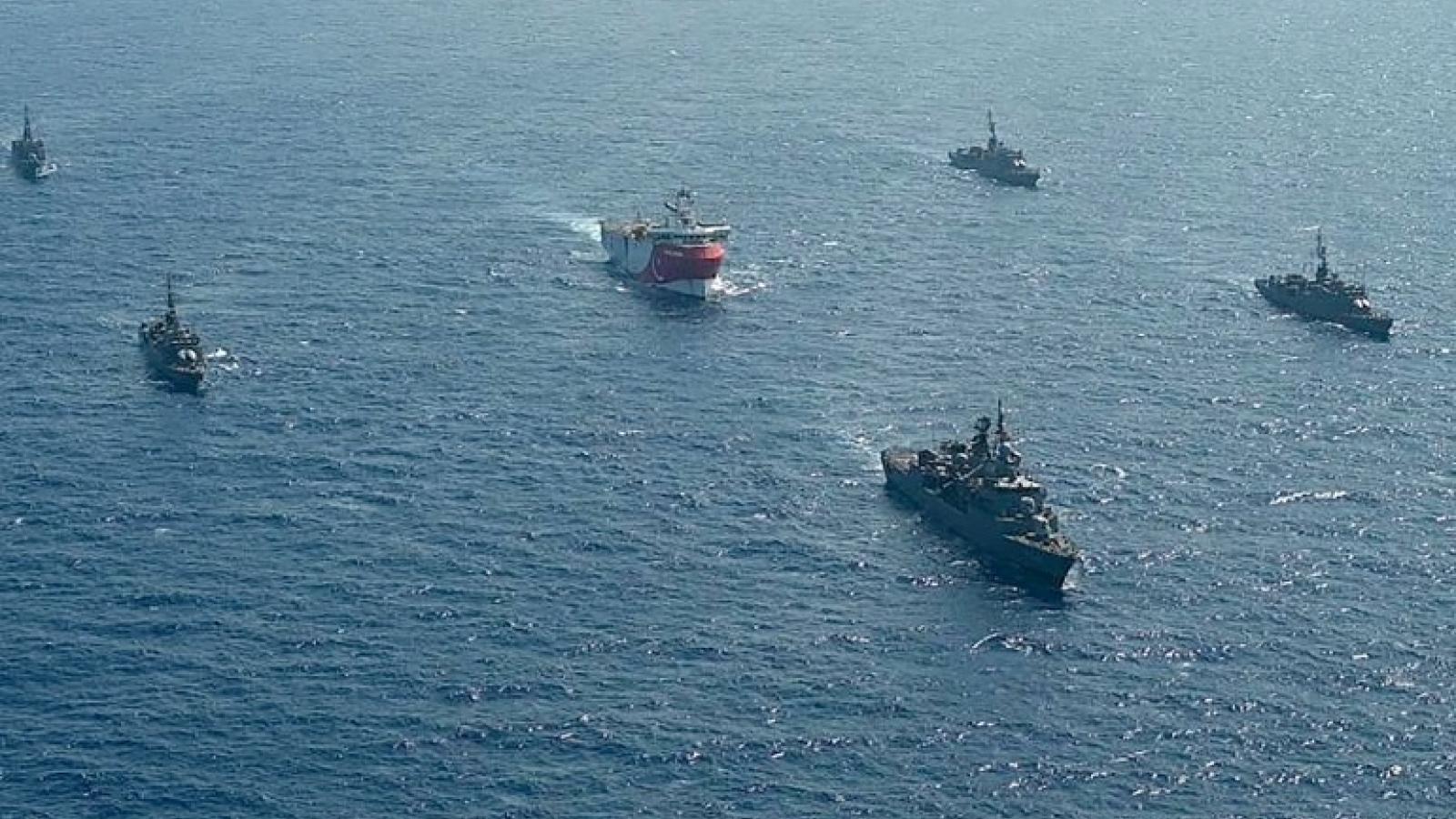 Hy Lạp và Thổ Nhĩ Kỳ nối lại đàm phán về tranh chấp lãnh hải sau nhiều năm xung đột