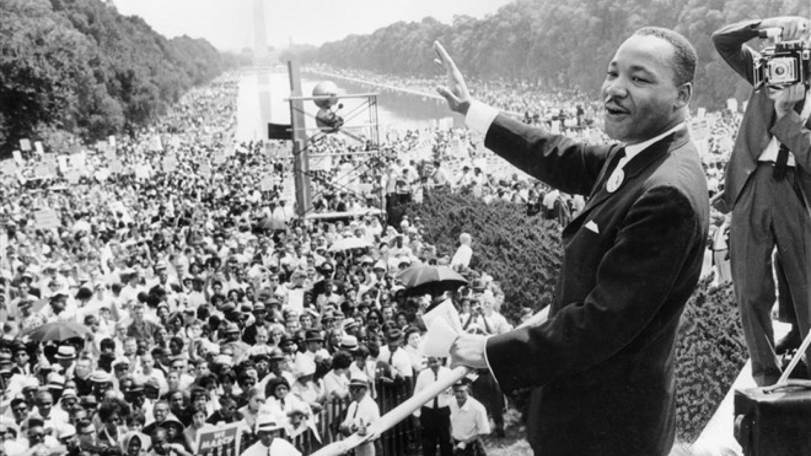 Những hình ảnh đáng nhớ trong cuộc đời nhà hoạt động nhân quyền Luther King