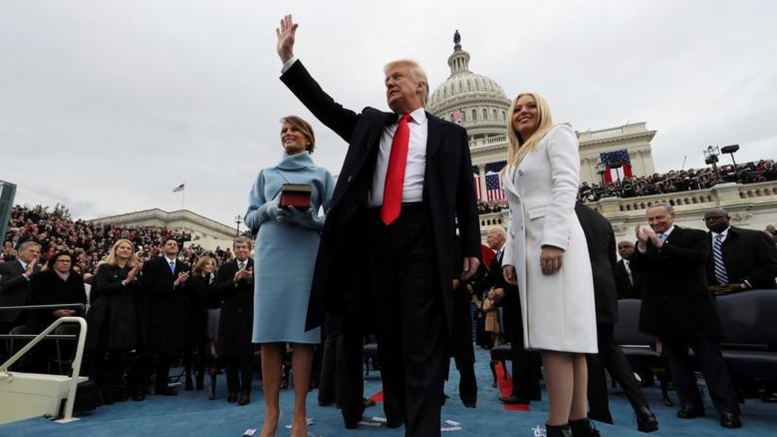 Nhìn lại những hình ảnh ấn tượng trong lễ nhậm chức của các Tổng thống Mỹ