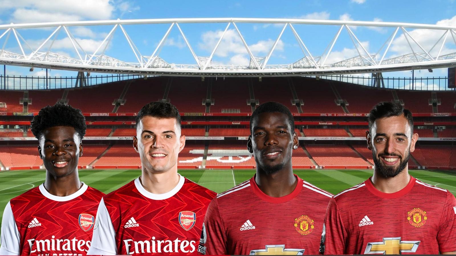 Dự đoán tỷ số, đội hình xuất phát trận Arsenal - MU
