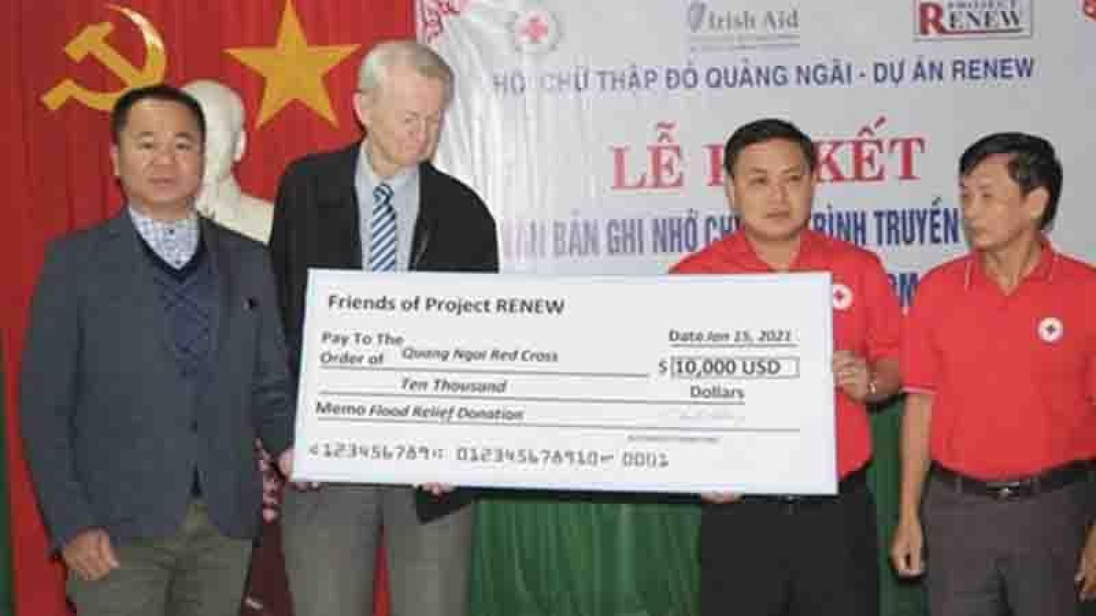 American veterans deliver flood relief to Vietnam