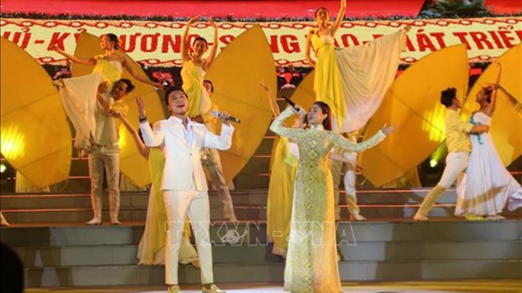HCM City holds art programme welcoming 13th National Party Congress