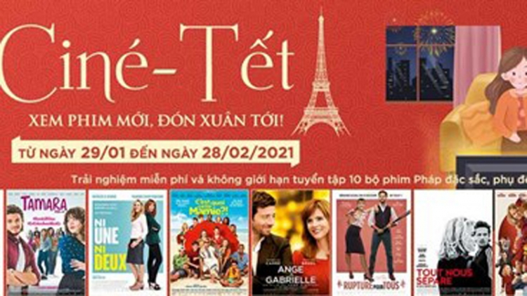 French films screened free online during Tet holiday