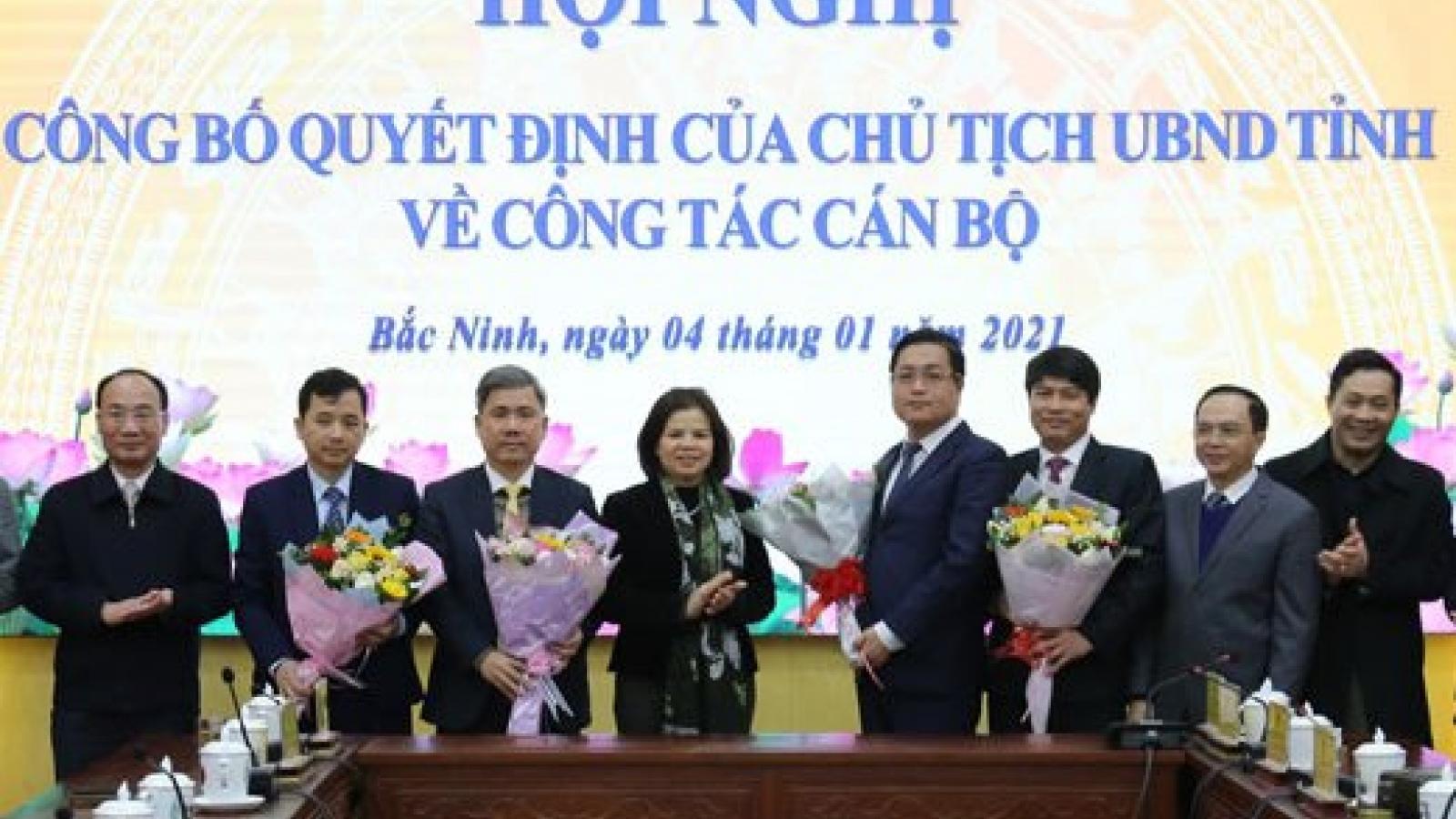 Bổ nhiệm ông Nguyễn Nhân Chinh làm Giám đốc Sở LĐ - TB và XH tỉnh Bắc Ninh