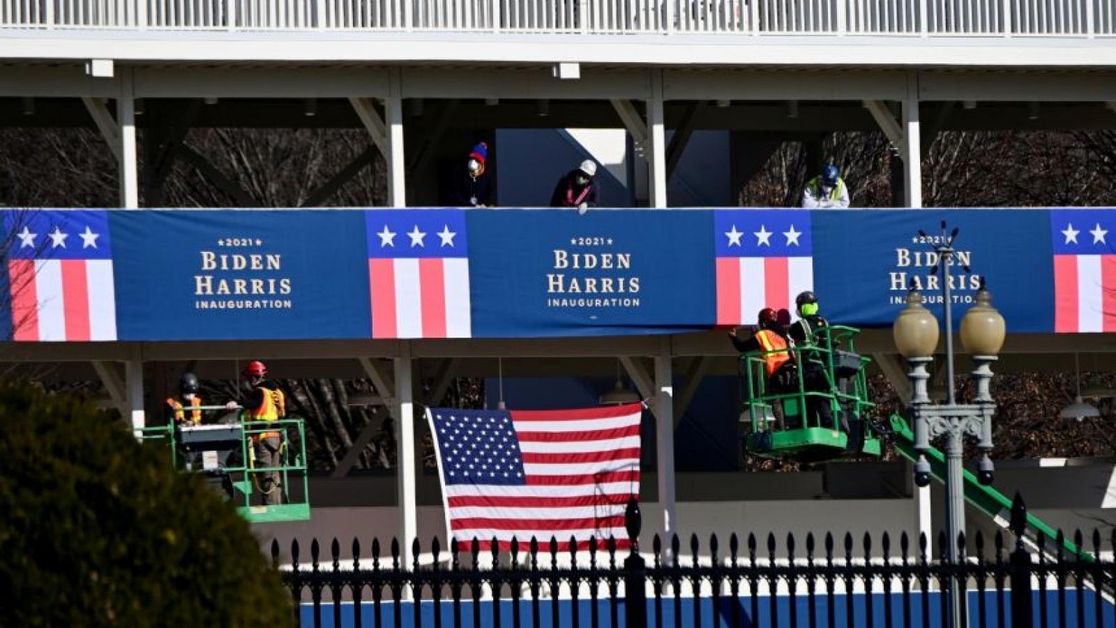 Mỹ phong tỏa thủ đô Washington trước lễ nhậm chức của ông Biden