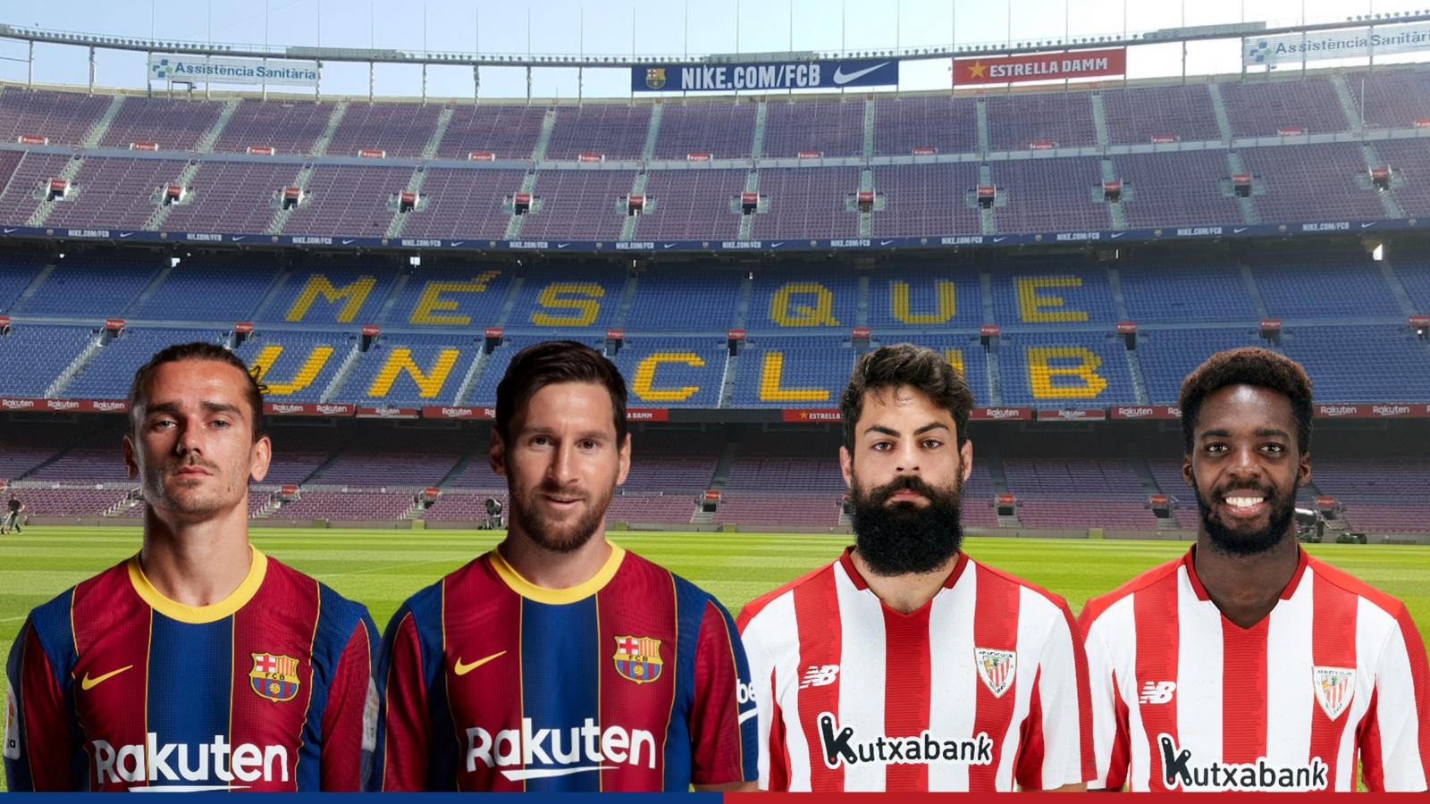 Dự đoán tỷ số, đội hình xuất phát trận Barca - Athletic Bilbao