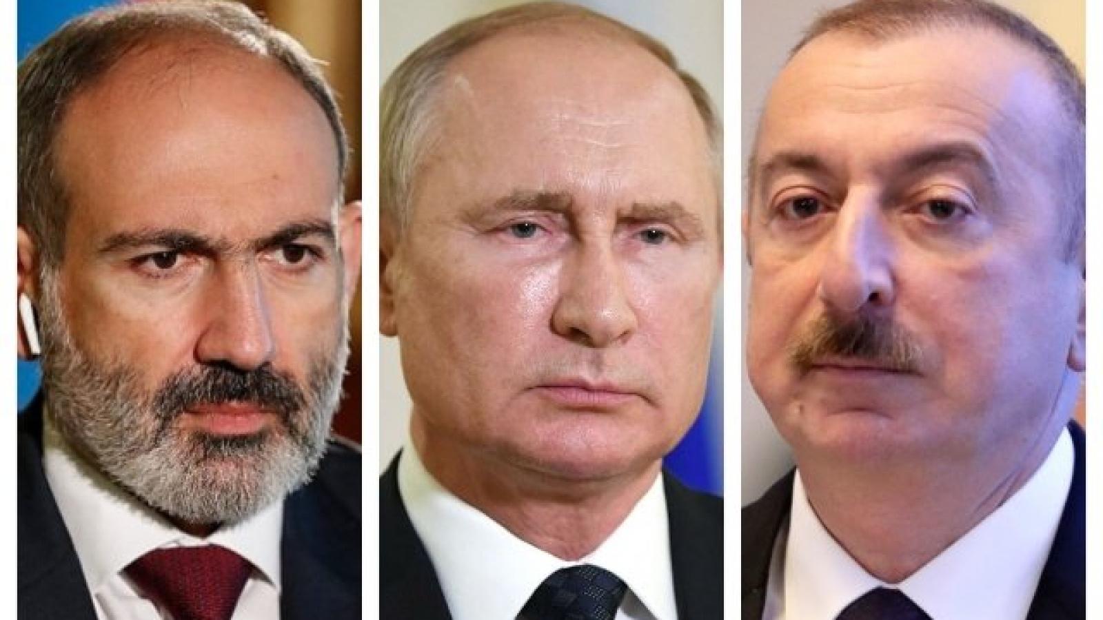 Tổng thống Nga đánh giá cao thỏa thuận ngừng bắn tại khu vực Nagorno-Karabakh