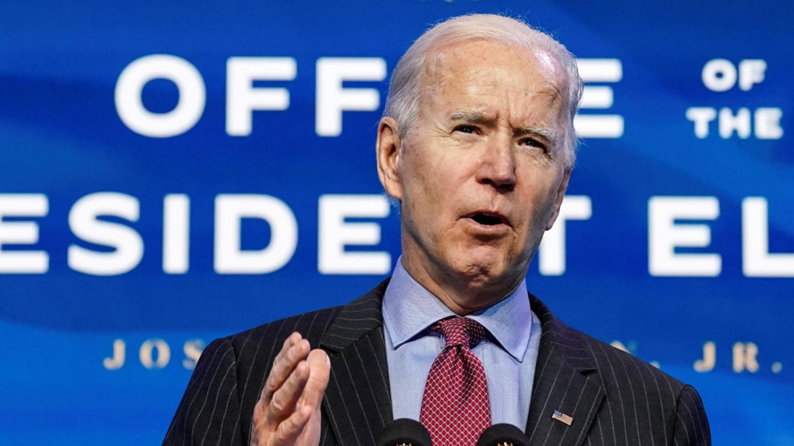 Tổng thống đắc cử Joe Biden và con đường chông gai trước mặt
