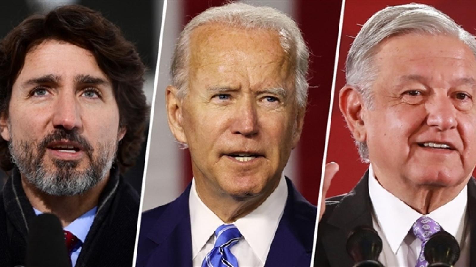 Tổng thống Mỹ Joe Biden lần đầu điện đàm với lãnh đạo nước ngoài