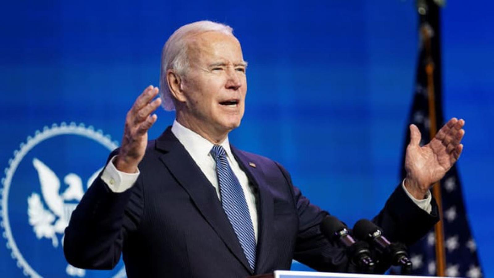 Tổng thống đắc cử Joe Biden kêu gọi thêm gói cứu trợ kinh tế trị giá hàng nghìn tỷ USD