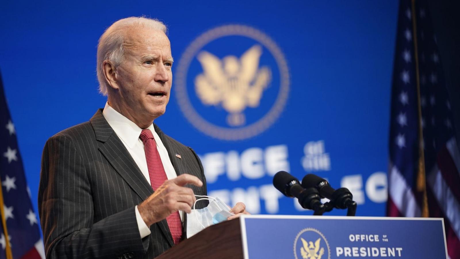 Mỹ mời đại diện của Nga dự lễ nhậm chức tổng thống của ông Joe Biden