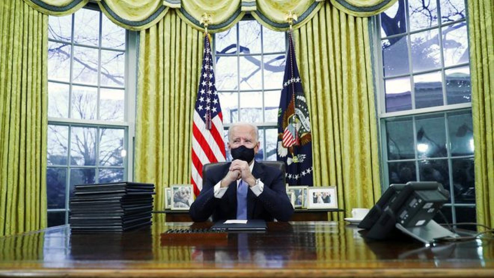 """Tổng thống Mỹ Joe Biden: Ông Trump đã gửi lại một bức thư """"rất hào phóng"""""""