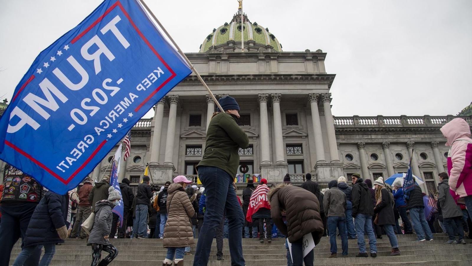 Nước Mỹ căng thẳng trước thời điểm xác nhận kết quả bầu cử tổng thống