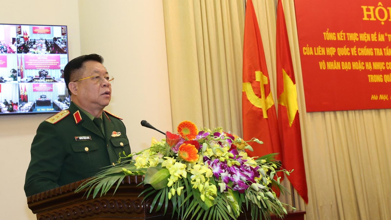 Bộ Quốc phòng tổng kết 5 năm thực hiện Đề án tuyên truyền về Công ước chống tra tấn