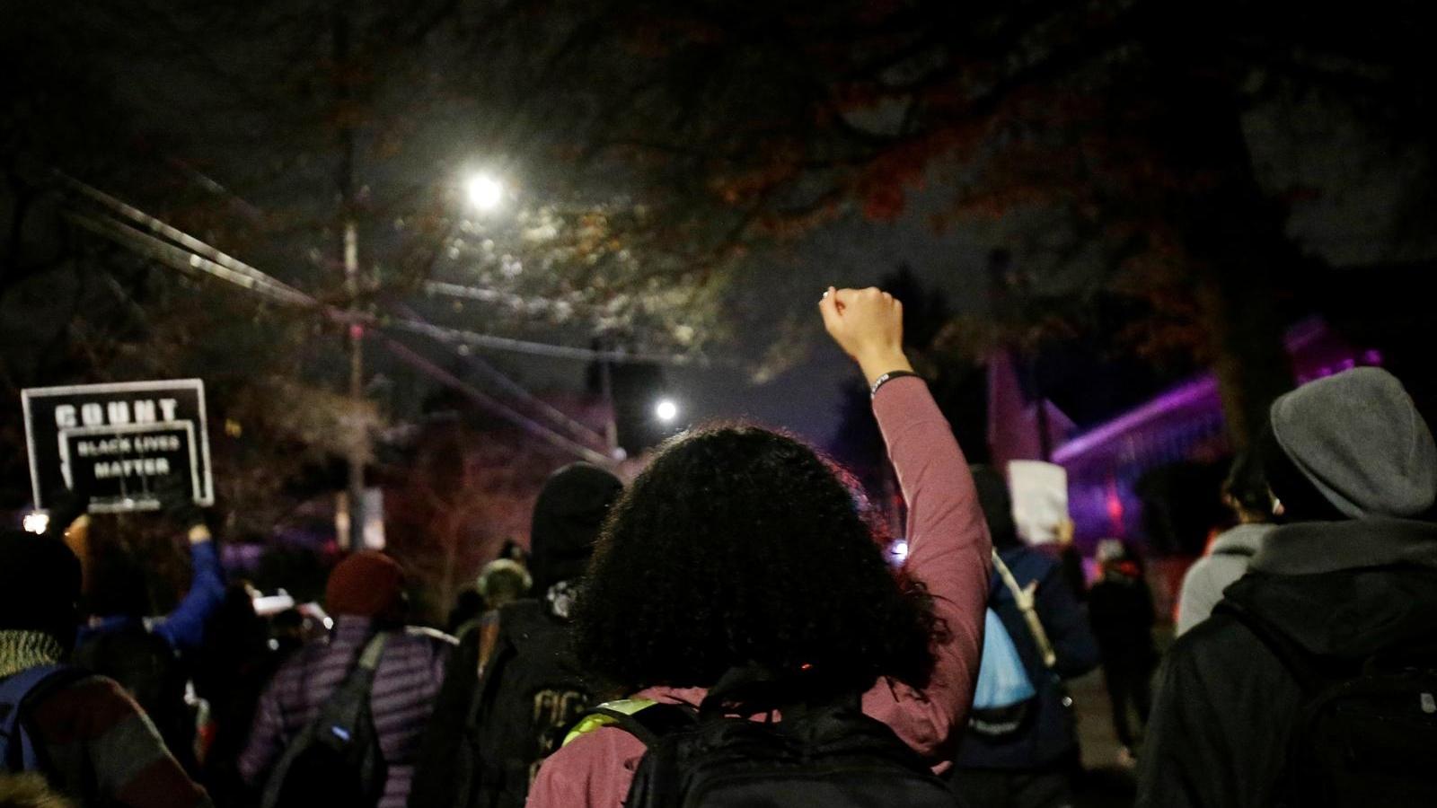 Biểu tình ở Portland, bang Oregon phản đối Tổng thống Biden