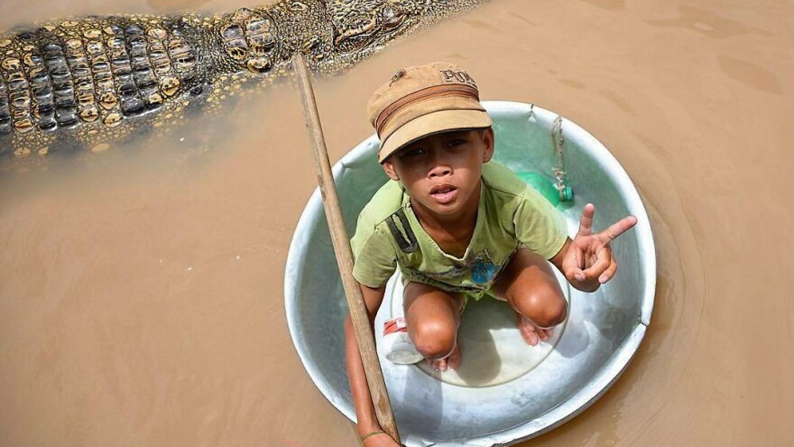 Những hình ảnh thú vị về cuộc sống của trẻ em trên khắp thế giới