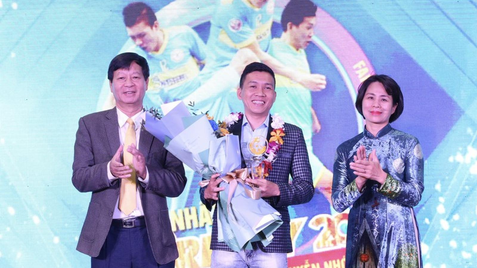 Cầu thủ Futsal giành giải thưởng Fair Play 2020