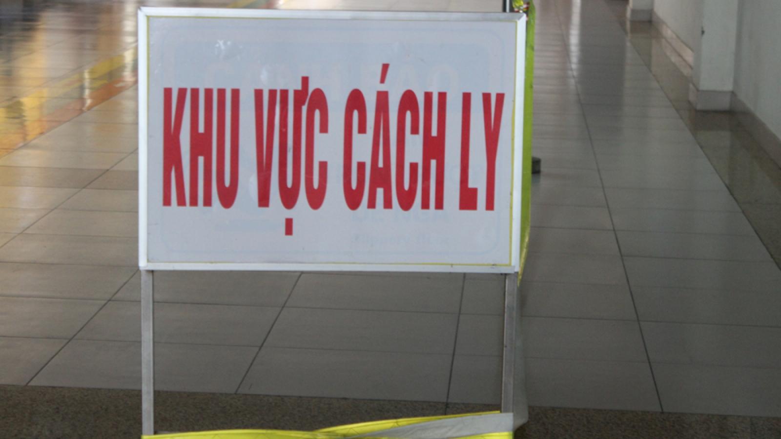 Thêm 5 ca nhập cảnh mắc COVID-19 được cách ly tại TPHCM và Đà Nẵng