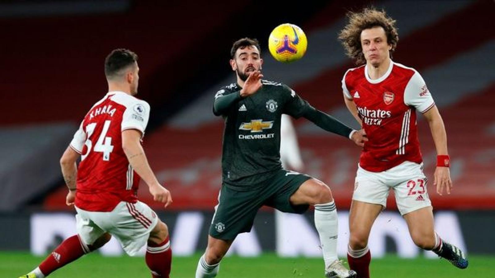 Chấm điểm Arsenal 0-0 MU: Bruno Fernandes vẫn là cầu thủ nhỏ ở trận đấu lớn