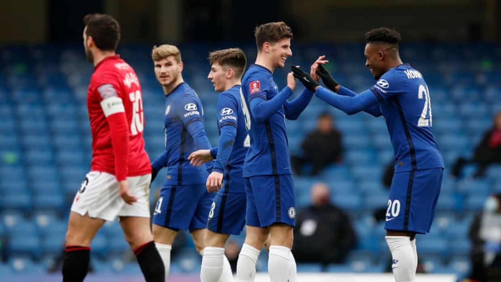 Vòng 3 FA Cup: Chelsea, Man City thắng trận tưng bừng