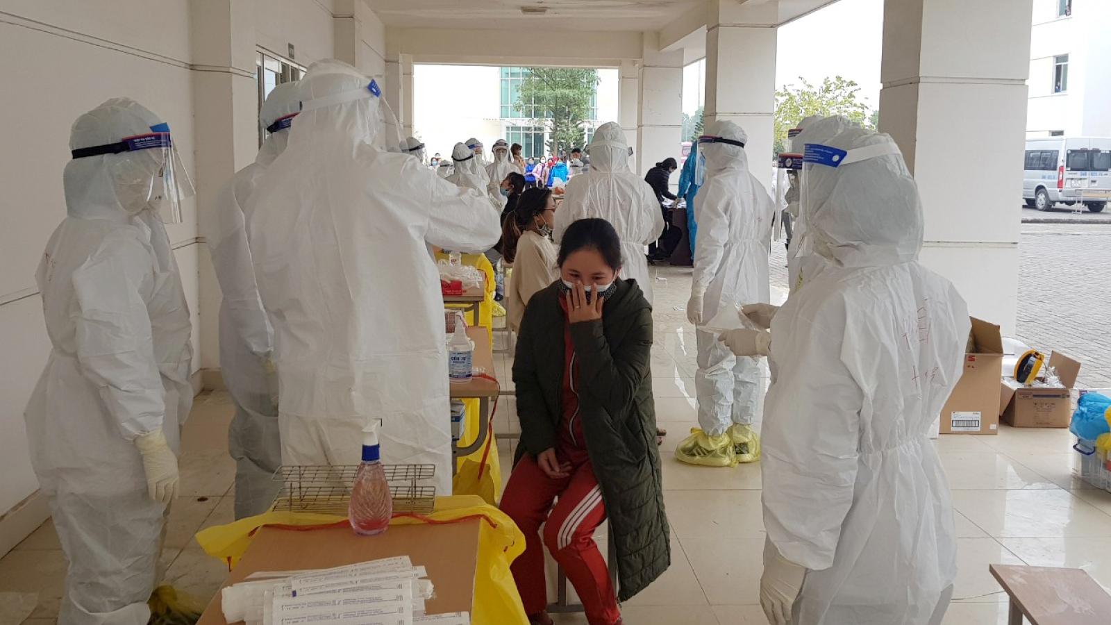 Trên 2.400 mẫu xét nghiệm tại Quảng Ninhâm tính với Covid-19