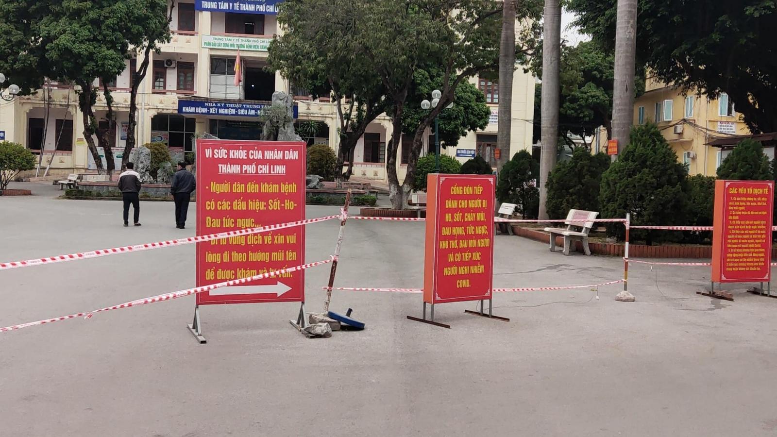 Thiết lập khu hồi sức tích cực tại Chí Linh để điều trị ca COVID-19 nặng