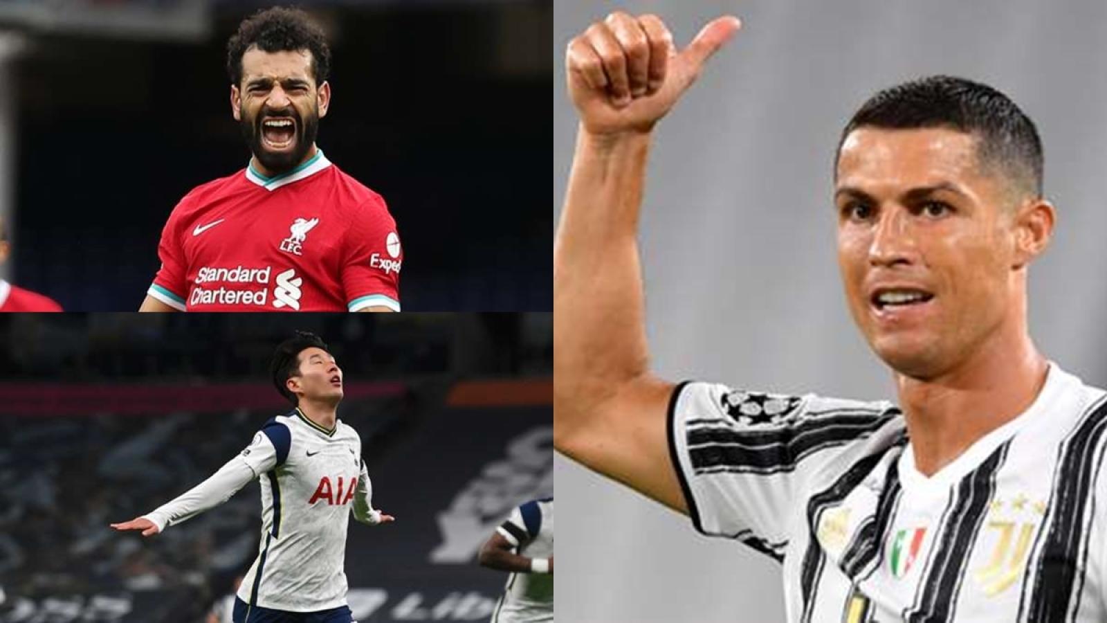"""Cuộc đua Chiếc giày Vàng châu Âu: Ronaldo """"hít khói"""" Lewandowski"""