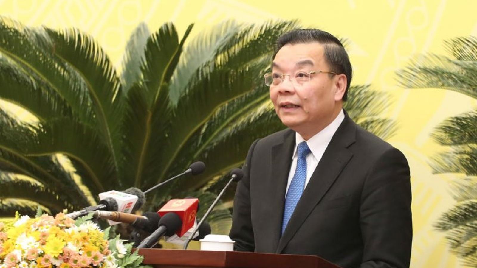 Ông Chu Ngọc Anh làm Trưởng ban Chỉ huy phòng thủ dân sự thành phố Hà Nội