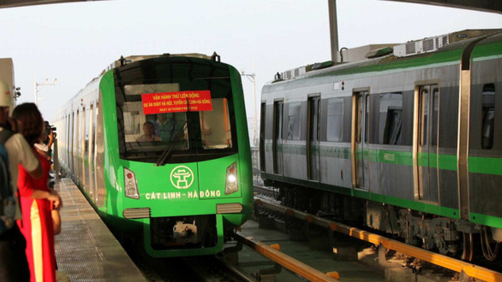 Đường sắt Cát Linh- Hà Đông kết thúc chạy thử: Vẫn còn nhiều việc phải làm