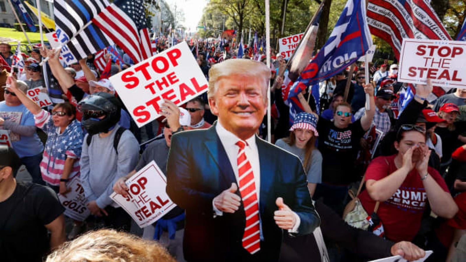 Mỹ điều Vệ binh quốc gia để kiểm soát biểu tình tại Washington DC