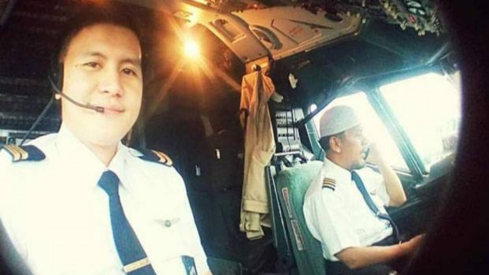Cơ trưởng của máy bay rơi ở Indonesia từng là phi công lực lượng không quân