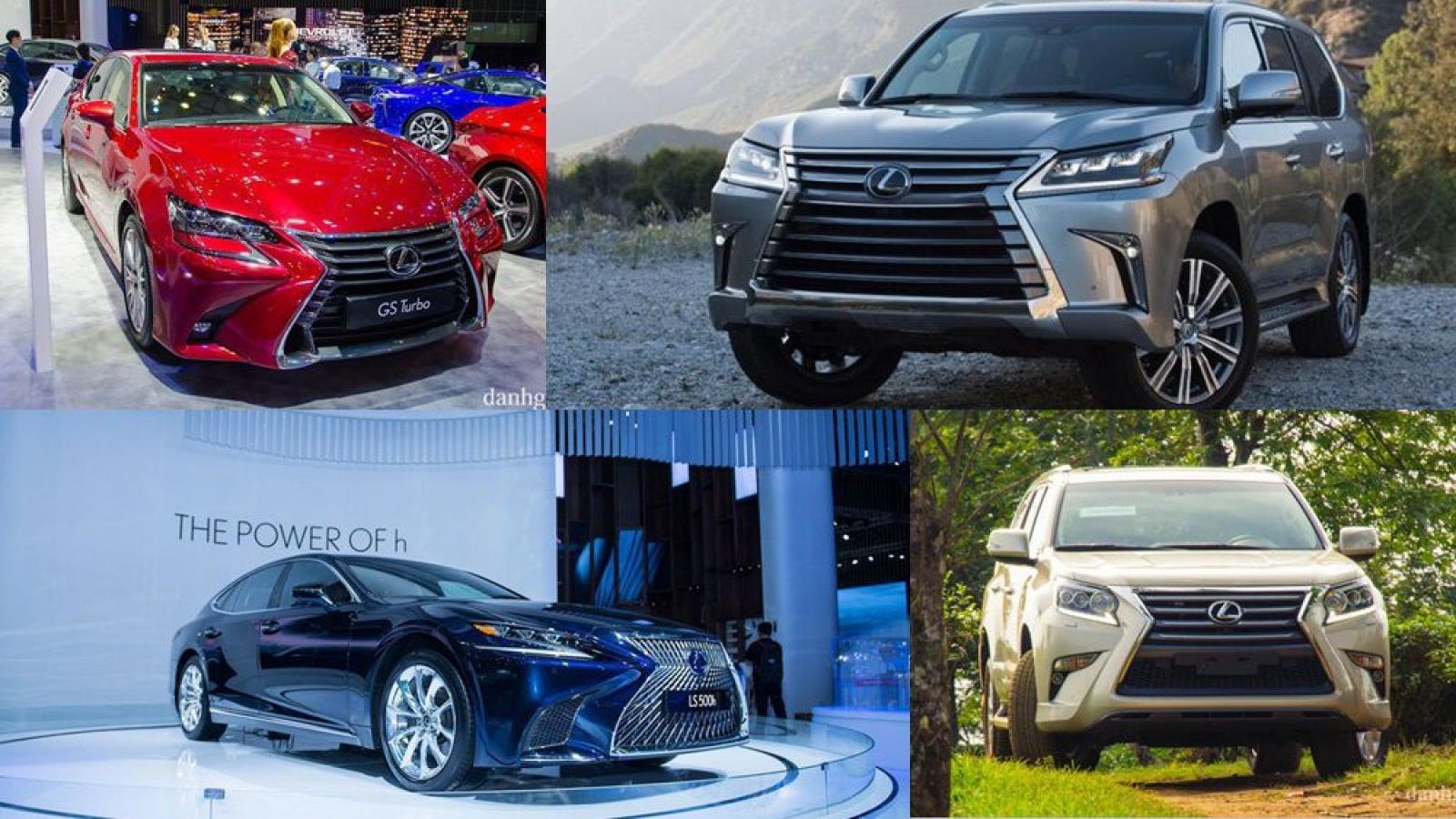 Hơn 1.000 xe sang Lexus được triệu hồi để kiểm tra và thay thế bơm nhiên liệu