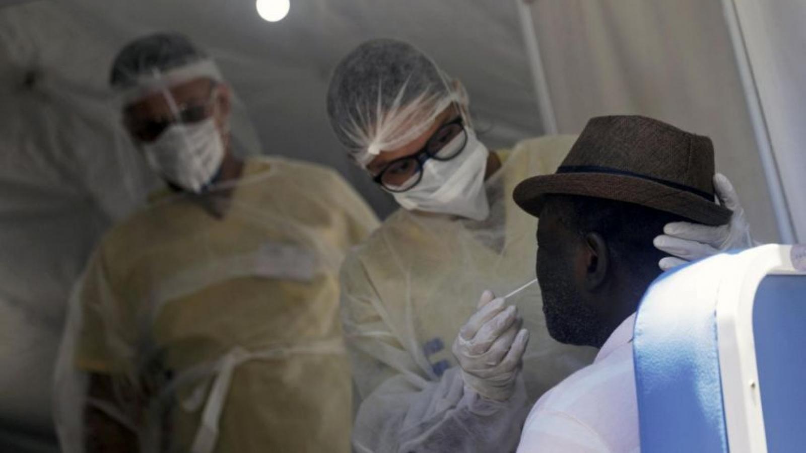 Brazil phát hiện trường hợp nhiễm đồng thời 2 biến thể của virus SARS-CoV-2