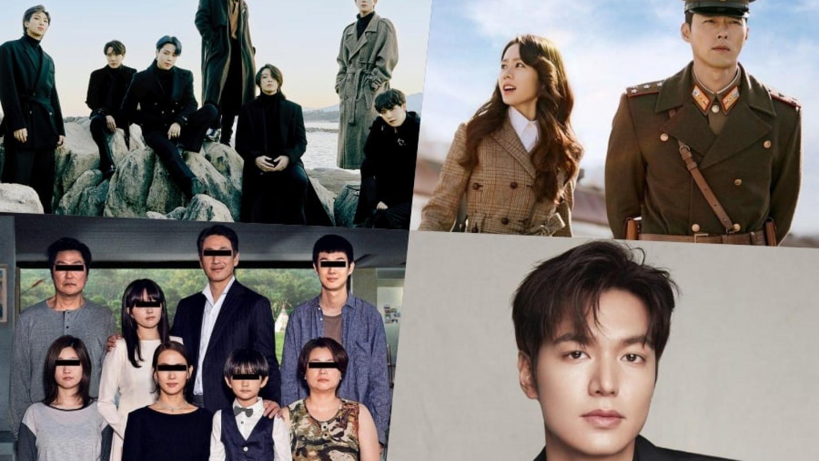 Sao Hàn nào được yêu thích nhất?