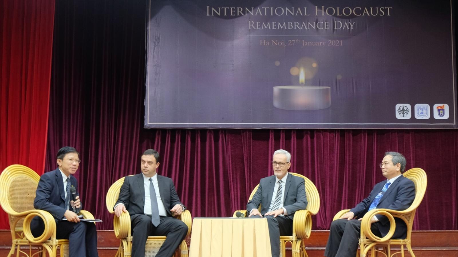 Đại sứ Israel: Cuộc diệt chủng Do Thái buộc dân tộc này phải thành lập quốc gia riêng
