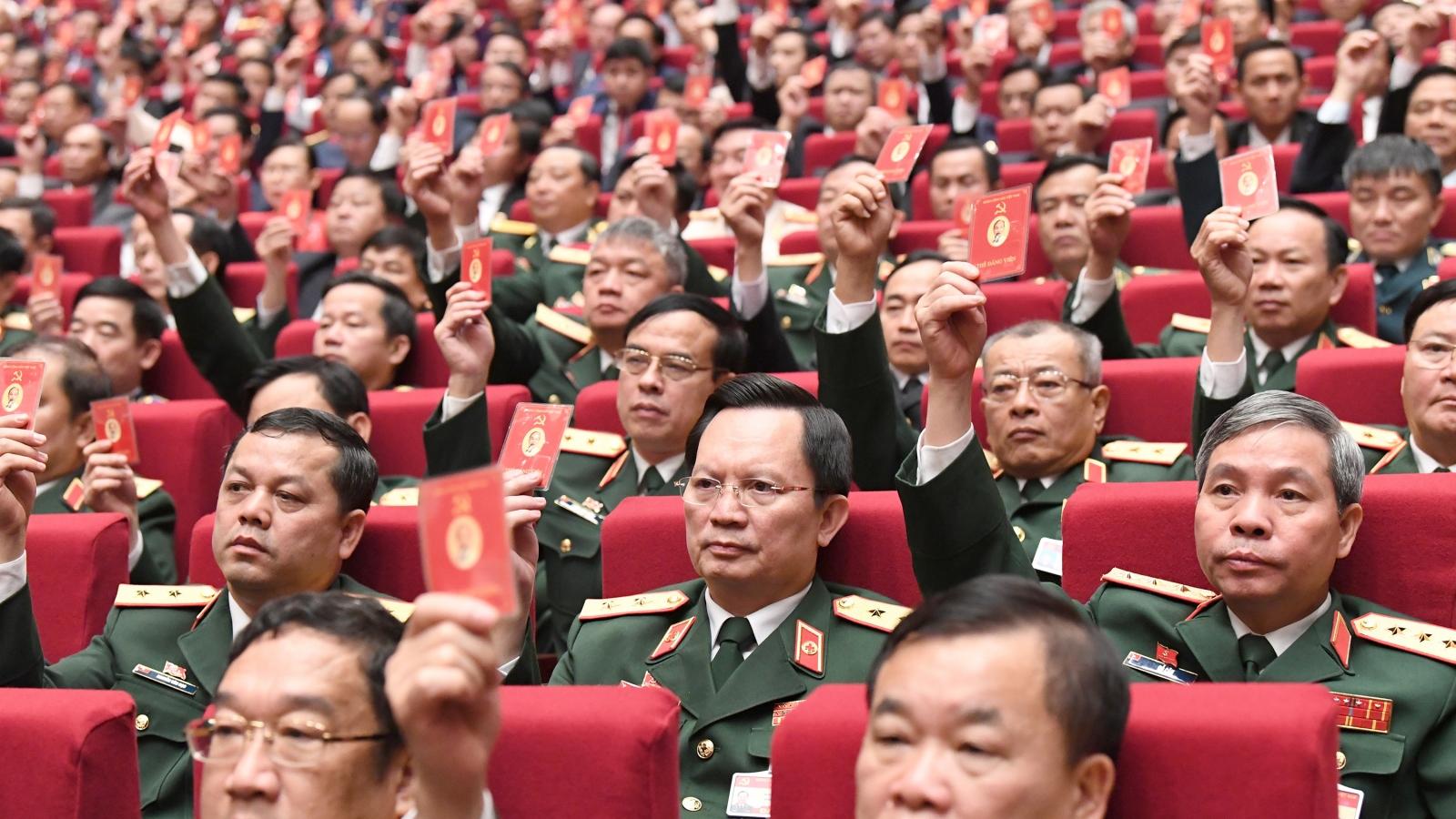 Thông cáo báo chí phiên họp trù bị Đại hội lần thứ XIII của Đảng