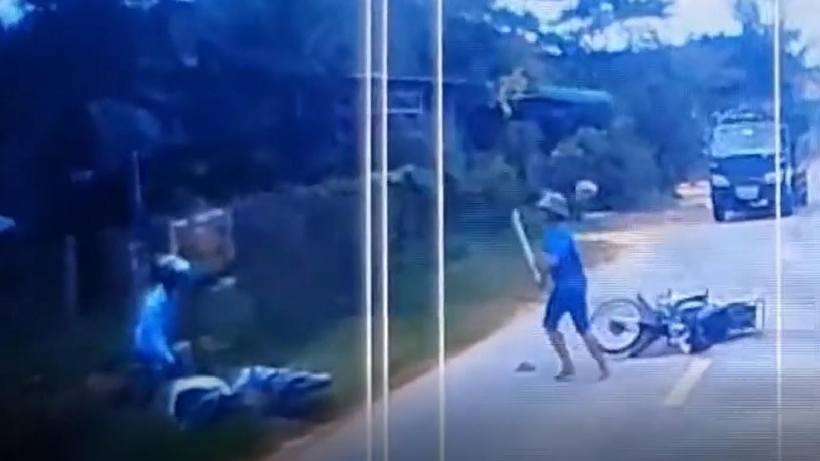 Công an lên tiếng vụ đánh người sau va chạm giao thông ở Bình Phước