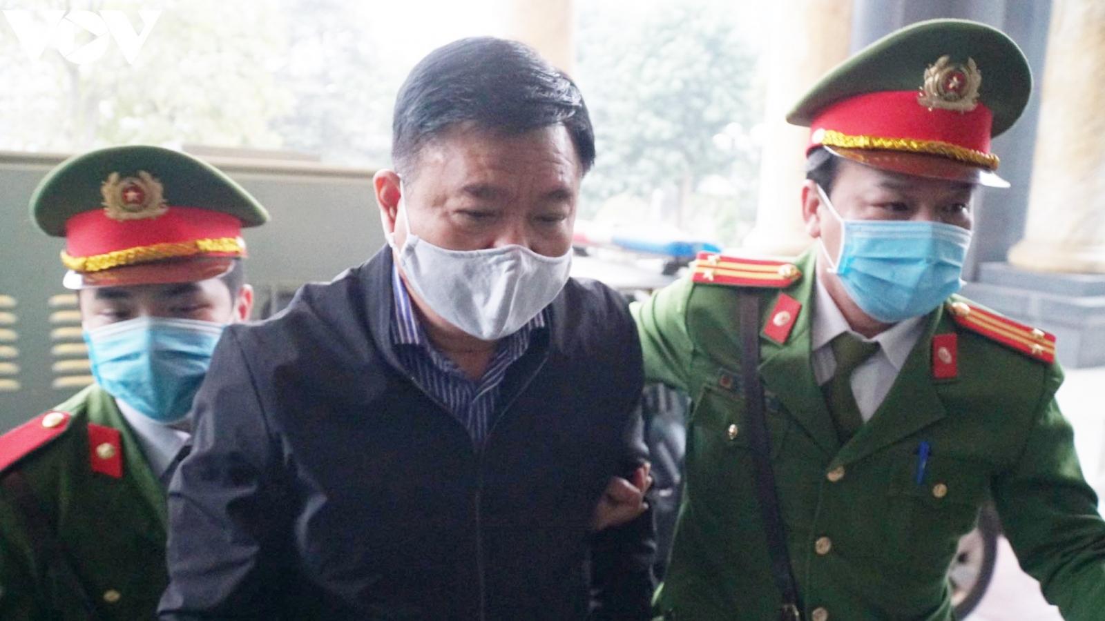 Hoãn phiên tòa xét xử bị cáo Đinh La Thăng, Trịnh Xuân Thanh vụ Ethanol Phú Thọ