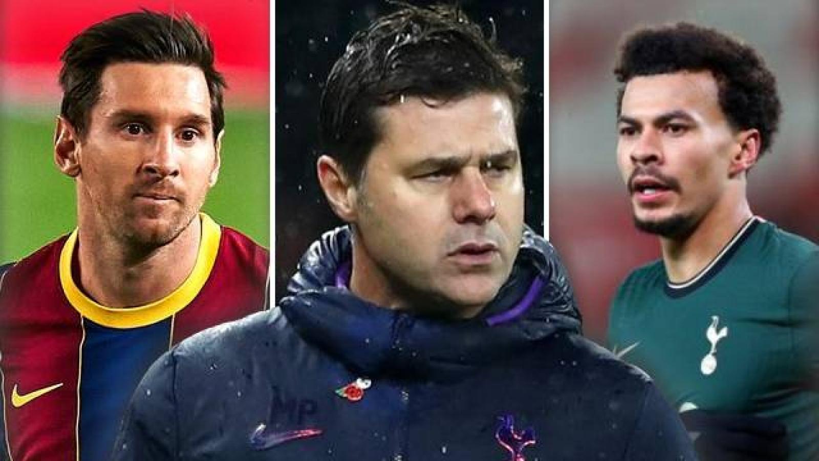"""Messi, Alli và đội hình """"siêu khủng"""" của PSG dưới thời Pochettino"""