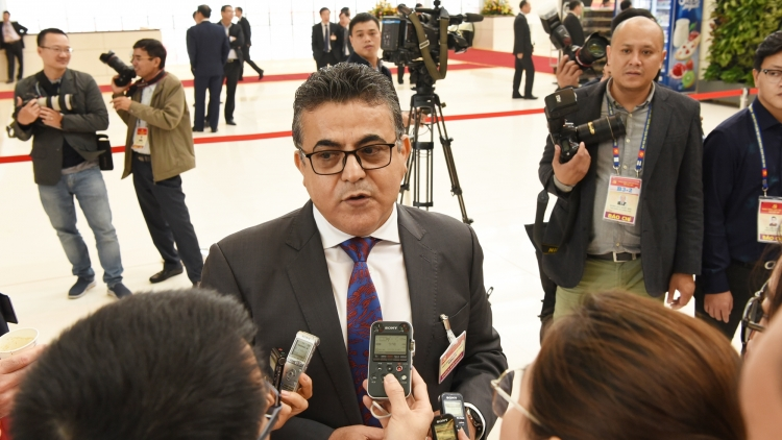 Đại sứ Palestine tại Việt Nam: Việt Nam là một quốc gia có nền độc lập thực sự