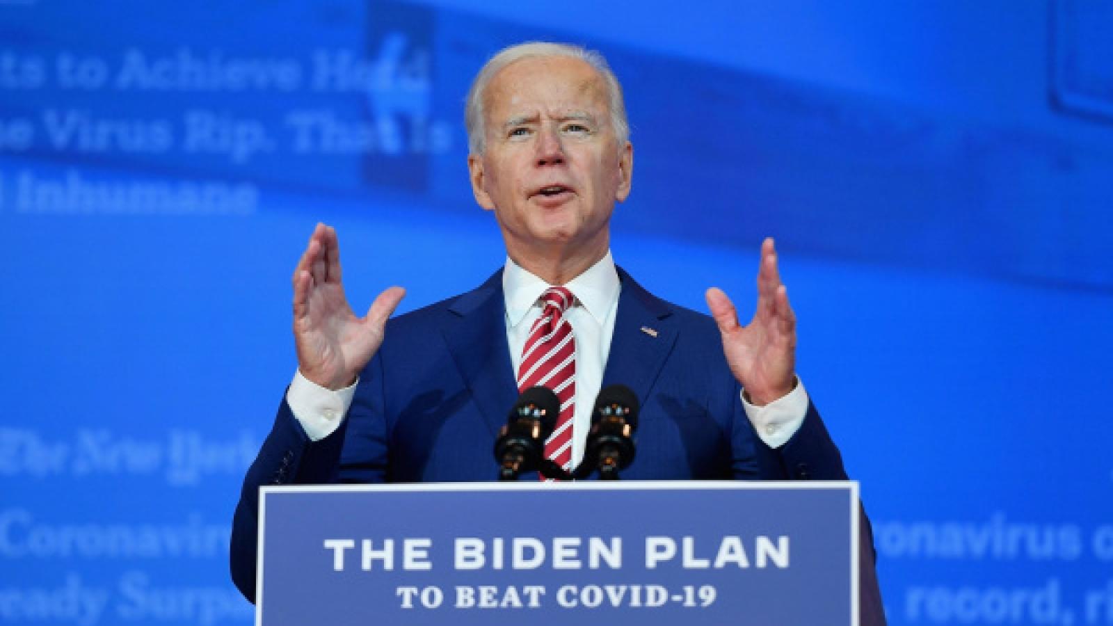 Ông Biden tiếp quản Nhà Trắng vào thời điểm nước Mỹ khó khăn nhất