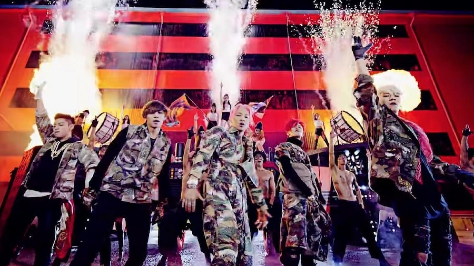 """""""Bang Bang Bang"""" là MV đầu tiên đạt 500 triệu lượt xem trên Youtube"""