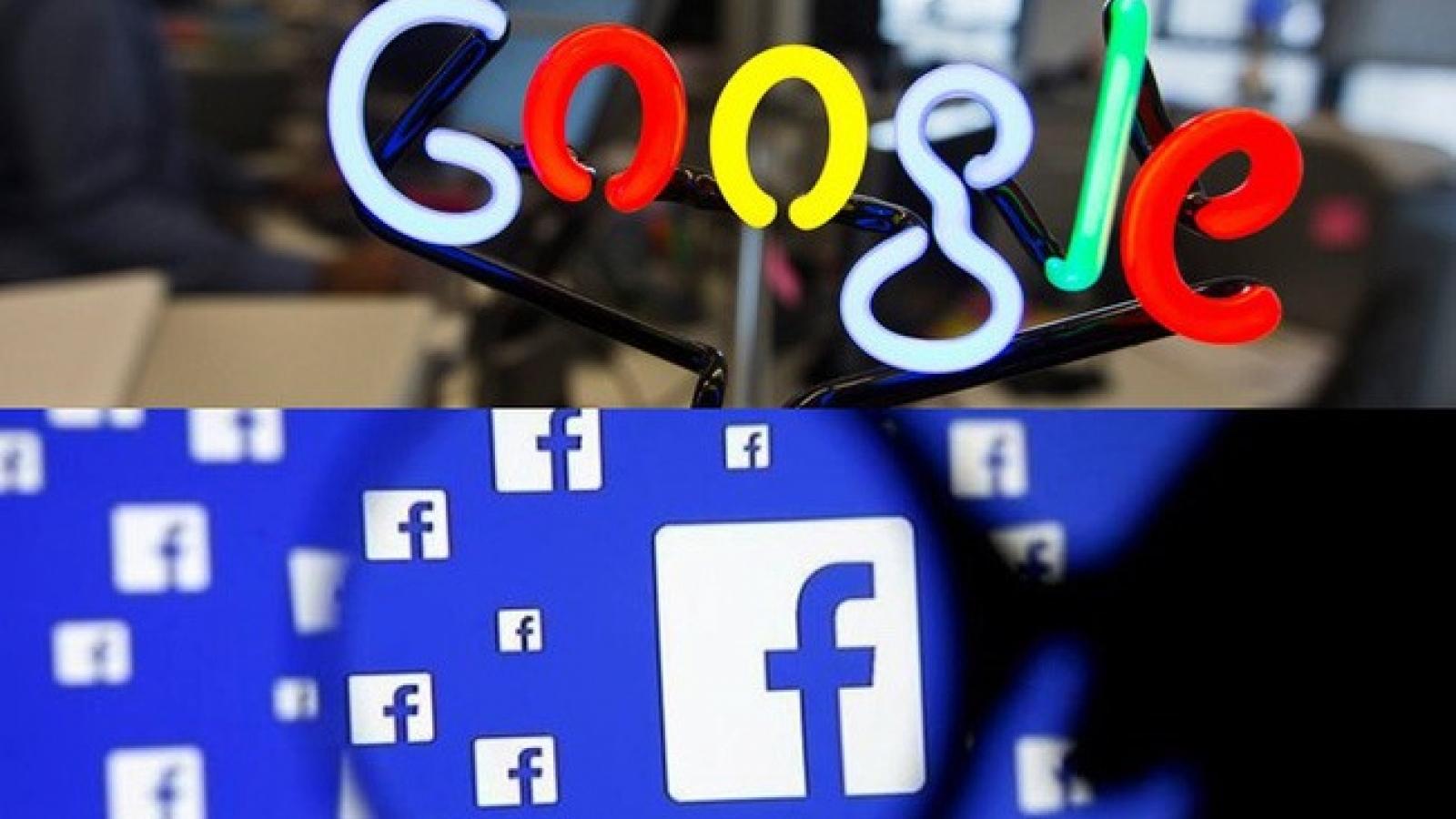 Mỹ không muốn Australia bắt Facebook, Google trả tiền cho báo chí