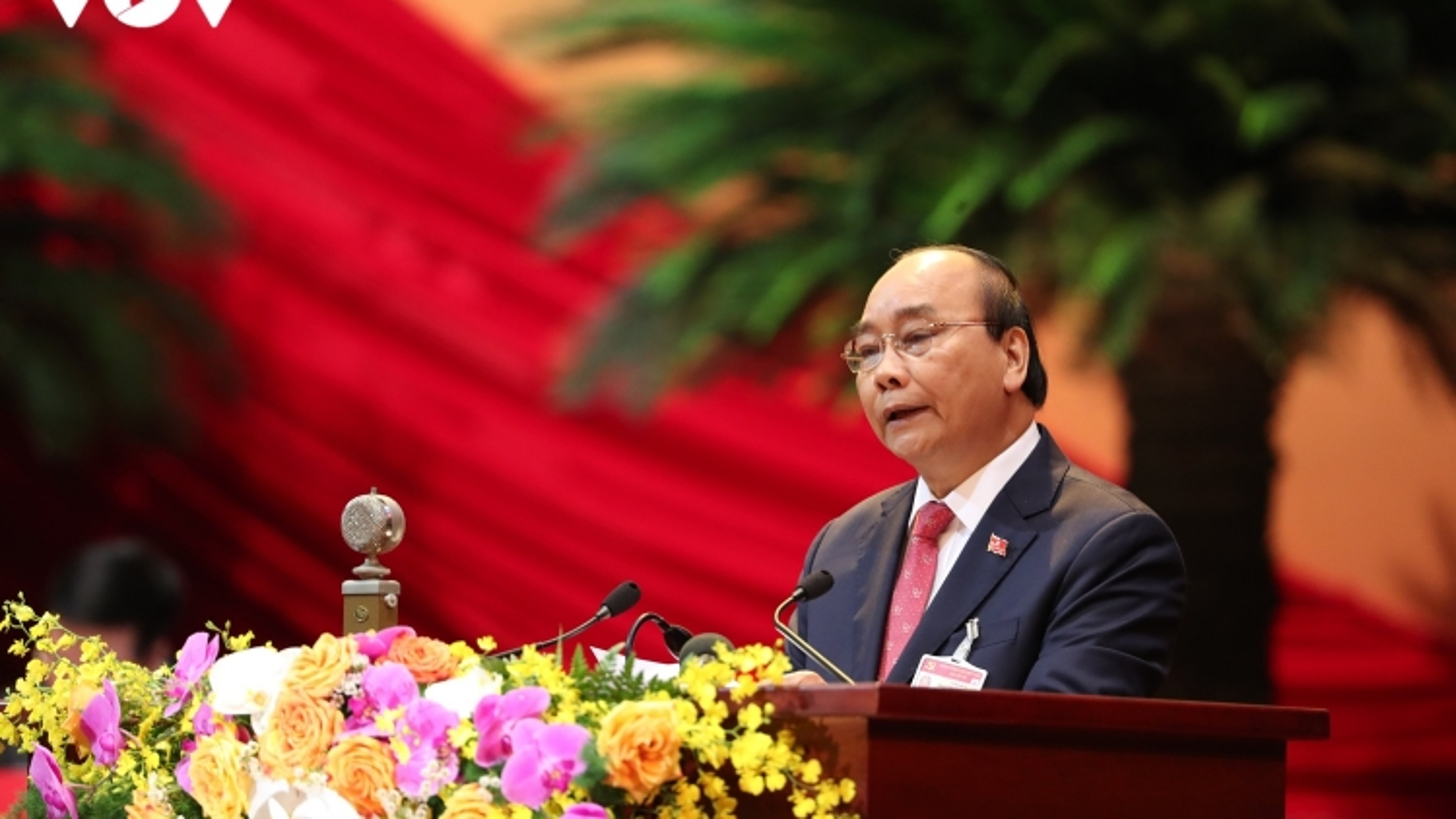 Đại hội Đảng lần thứ XIII: Thủ tướng trình bày diễn văn khai mạc