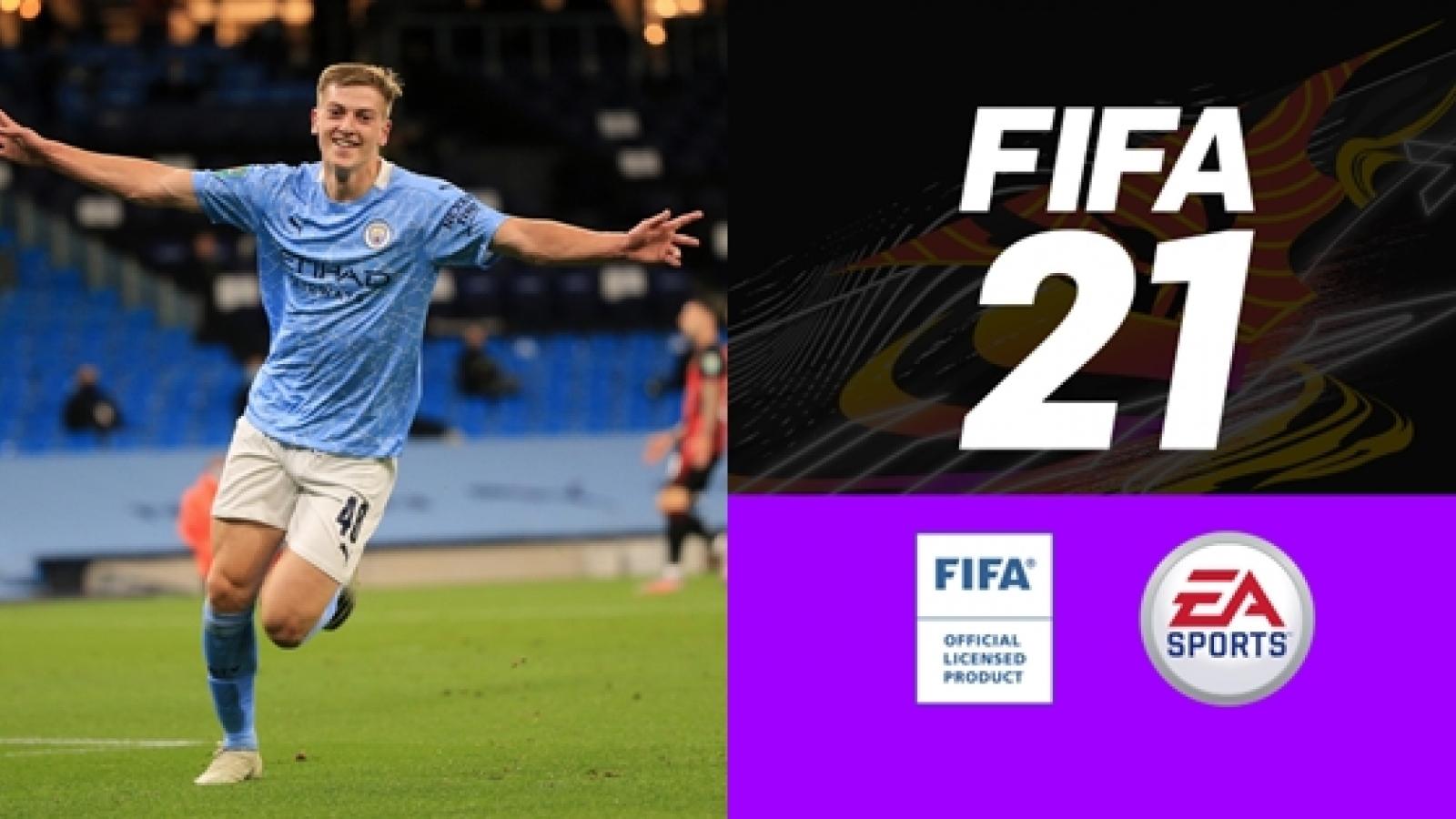 Top 10 sao trẻ Premier League có tiềm năng phát triển thần tốc trong FIFA 21