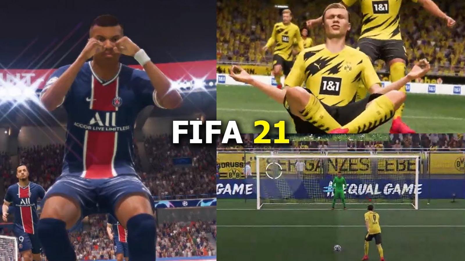 Đội hình 11 cầu thủ trẻ có tiềm năng trở thành siêu sao trong FIFA 21