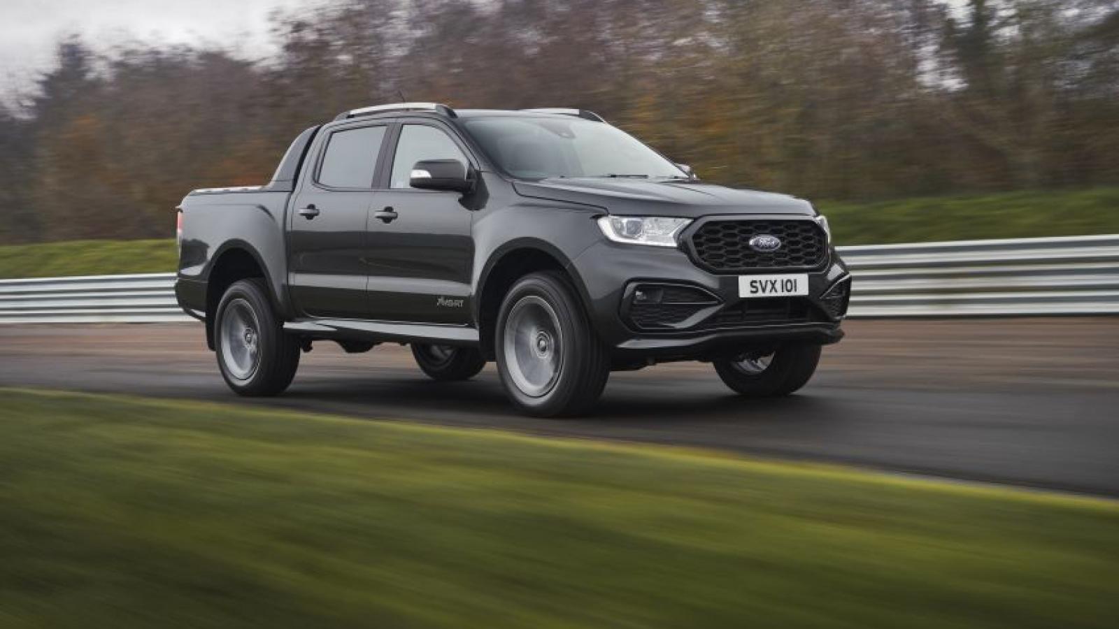 Ford giới thiệu thêm phiên bản Ranger MS-RT