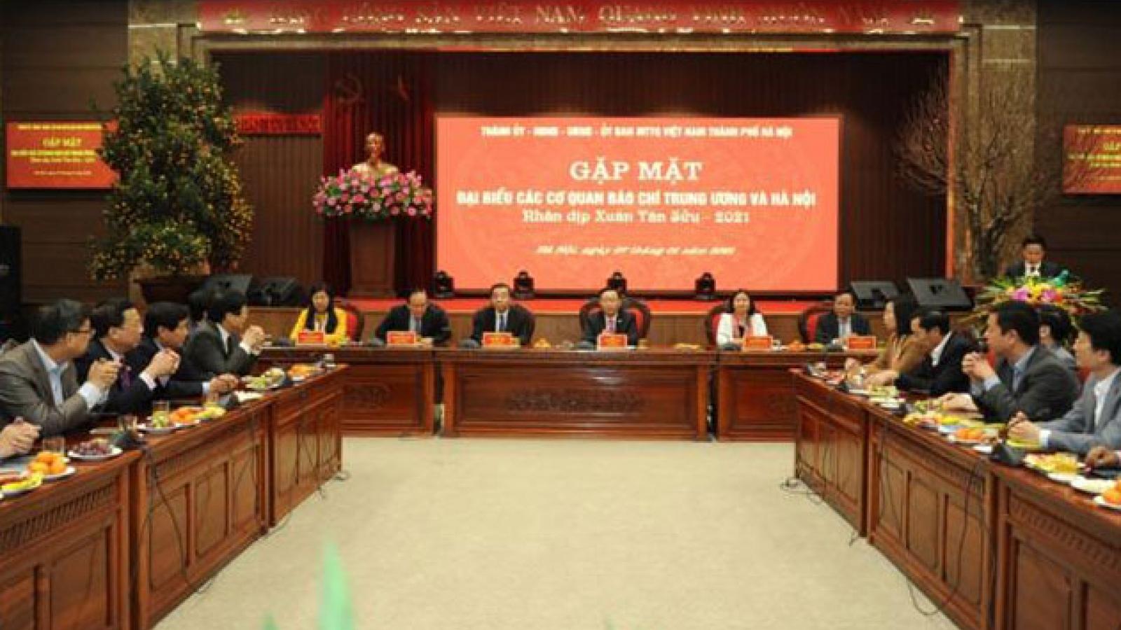 """Thành ủy Hà Nội chỉ đạo xây dựng """"ngôi nhà chung"""" của các cơ quan báo chí"""
